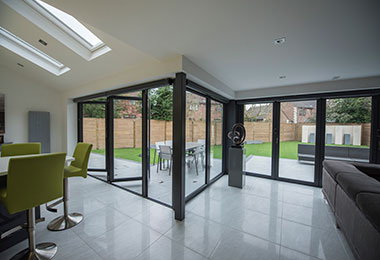 Bi-fold or sliding doors