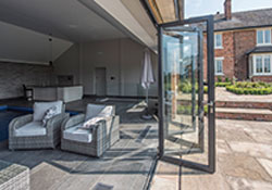 Schuco bi-folding door featured