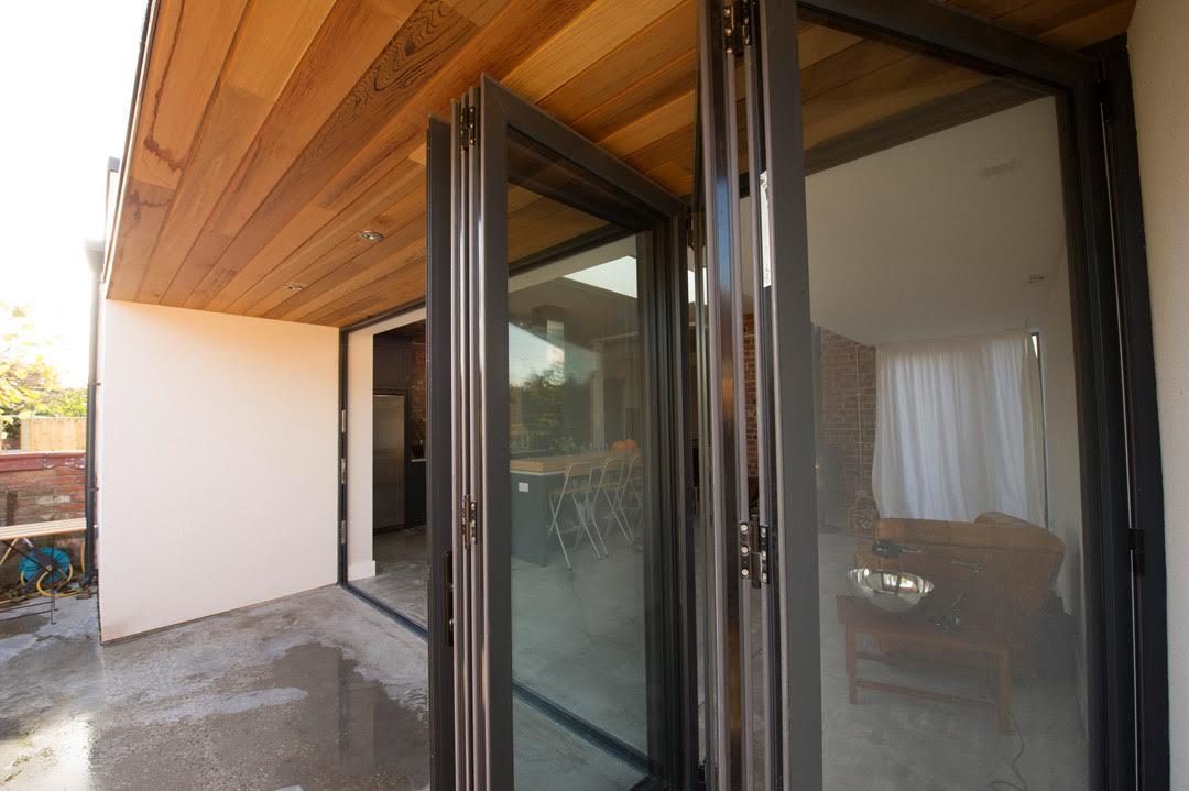 Haus Glass aluminium bi fold doors Cheshire The Bi-folding Door ...