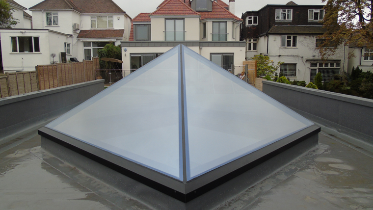Haus Glass Lantern And Pyramid Rooflights